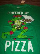 TEENAGE MUTANT NINJA TURTLES Powered By Pizza T-Shirt 3XL BIG & TALL NEW