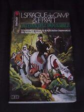 """L. SPRAGUE DE CAMP & F. PRATT """" LA TERRA DELL'IMPOSSIBILE """" MEB 1977 SAGA, 17"""