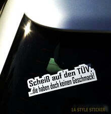 Al carajo con los pegatinas TÜV Dapper tuning pegatinas auto Static sticker auto