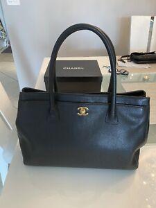 "Retail Price $5200 Chanel Authentic Executive Bag XL 14""x 10""x 6"""