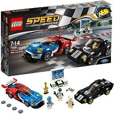 Lego 75881 Speed Champions Jeu de construction Ford GT 2016 &amp Ford Gt40 1966