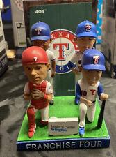 Nolan Ryan SGA Bobblehead Texas Rangers Franchise 4 7/30/2016 Small Helmet Chip