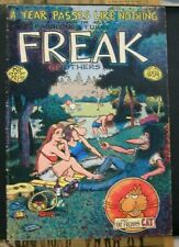 Furry Freak Brothers #3 Rip Off Press 1974 VG 2nd Ptg  Shelton Free Ship