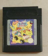 El juego Rugrats Movie Gameboy