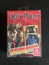 NEW & SEALED HARRY POTTER AND THE DEATHLY HALLOWS PICTURE PLAYING CARDS DECK SET