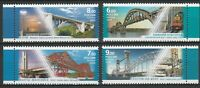Russia 2009 Architecture Bridges 4 MNH stamps