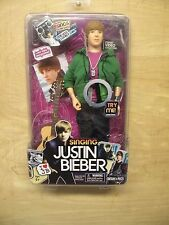 SINGING JUSTIN BIEBER DOLL ONE LESS LONELY GIRL  NIB