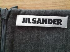 Damen Rock JiL Sander Gr 36 W27 grau Wollmischung guter Zustand