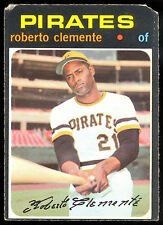 1971 TOPPS OPC O PEE CHEE BASEBALL #630 ROBERTO CLEMENTE VG PITTSBURGH PIRATES