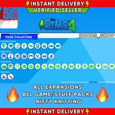 The Sims 4 💎 ALL Expansions + ALL game/stuff packs + Nifty Knitting ✅INSTANT✅