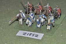 25mm Medievale/inglese-Men at arms 8 Fichi CAVALLERIA-CAV (21852)