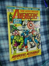 AVENGERS #100 marvel comics 1972 classic BARRY WINDSOR SMITH team assemble cover