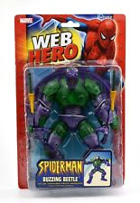 ToyBiz-Spider-Man Web HERO-Ronzante BEETLE Action Figure