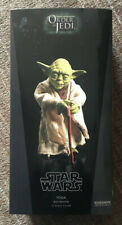 Star Wars Sideshow Collectibles Yoda Jedi Mentor Order Of The Jedi NEW MIB 1:6