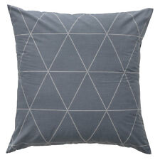 Bianca Marla Charcoal European Pillowcase