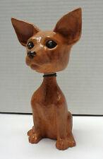 """Scioto 7"""" Ceramic Chihuahua Bobblehead Dog!"""