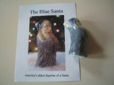 The Blue Santa America's Oldest Figurine of a Santa St. Nicholas