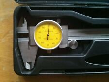 "SPERCIAL PRICE  NEW YELLOW FACE 0-6"" STAINLEES STEEL DIAL CALIPER"