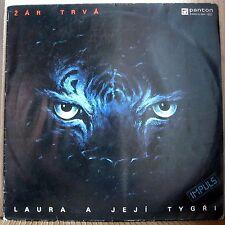 Laura A Její Tygři – Žár Trvá !!! XTRA RARE LEGEND CZECH PROG ROCK  !!!
