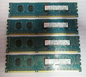 Hynix HMT112R7BFR8C-G7 4GB (4x1GB) PC3-8500 DDR3-1066MHz ECC CL7 240P Memory