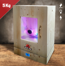 Biltong Maker Box Perspex Window, LED & Temperature Control 5kg Jerky Beef Dryer