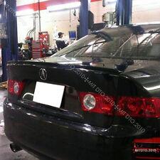 04-08 Acura TSX Trunk Lip Spoiler B92P Nighthawk Black Pearl Paitend §