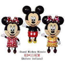 Palloncino Jumbo Mickey Mouse Topolino Minnie Cm. 114 x 63 Festa Compleanno