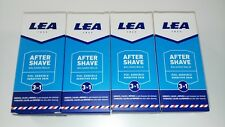 Lea Sensitive Skin ultra cooling 3 in 1 Aftershave Balm x 4  125ml UK stock