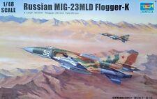 Trumpeter 1/48 Russian MIG-23MLD Flogger-K Plastic Model Kit TSM2856