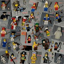 Lego CASTLE KINGDOM PIRATE PATRIOT Mini Figure Carribean Soldier **YOU CHOOSE**