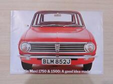 AUSTIN MAXI 1750 & 1500 Car Sales Brochure 1971 #2786