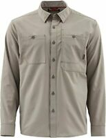 """""""NEW"""" Simms Double Haul Long Sleeve Shirt - Choose color and Size"""