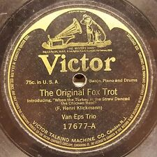 Victor 17677 VAN EPS TRIO The Original Foxtrot SIX BROWN BROTHERS MOANING SAX