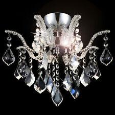 Kristall LED Kronleuchter Deckenleuchte Lüster Ø40cm Wohnzimmer 4xG9 Deckenlampe