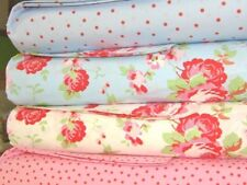 """Cath Kidston Fabric Patchwork Quilting Cuadrados Cuadrados Paquete 4"""" Algodón Acolchado"""