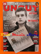 rivista UNCUT 154/2010 CD Bon Iver Joy Division Jeff Beck Strokes Low Anthem