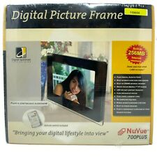 NIB Digital Picture Frame NuVue 700 Plus Digital Spectrum 1,450 Pictures
