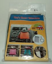 CAR or TRUCK Handy Organizer GREEN - Clips To Inlet Of Air Conditioner Vent NIP