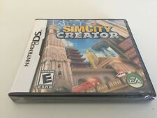 SimCity Creator (Nintendo DS, 2008) DS NEW