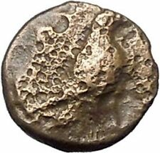 Kyme in Aeolis 350BC EAGLE & VASE on Authentic Ancient Greek Coin i48574