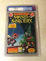 SWORD OF SORCERY #1 CGC 9.8 NM MT NEAL ADAMS CHAYKIN KALUTA 1973 TOP GRADED