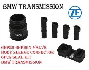 ZF 6HP26 6hp26X Valve Body Sleeve Connector Seal kit 6pcs BMW Transmission OEM