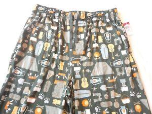 Joe Boxer Lounge Sleep Pants Cotton Blend Men's Size XL Camping Print