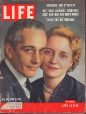 LIFE April 30,1956 Mr & Mrs Daniel / Princess Grace Wedding / The DEW Line