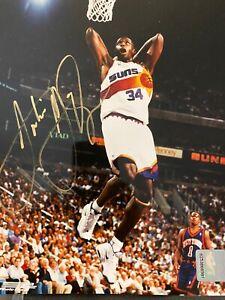 Antonio McDyess Signed Phoenix Suns 8x10 Photo Nuggets Spurs Alabama Pistons