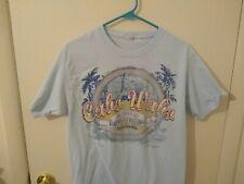 Cabo Wabo Cantina Sammy Hagar Men's Light Blue T-Shirt Size M Medium