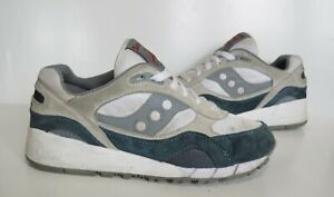Mens SAUCONY SHADOW 6000 Grey Trainers Size UK 7 Good Cond