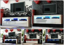 NEW 2020! Superb TV Stand Unit Cabinet 160cm + Floating /Standing + Gloss + LED