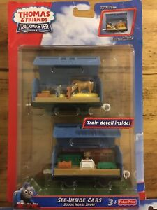 Trackmaster See-inside Cars Sodor Horse Show