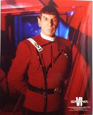 STAR TREK IV Movie Autograph Leonard Nimoy/Mr Spock Signed 8x10 Photo(LHAU-067)